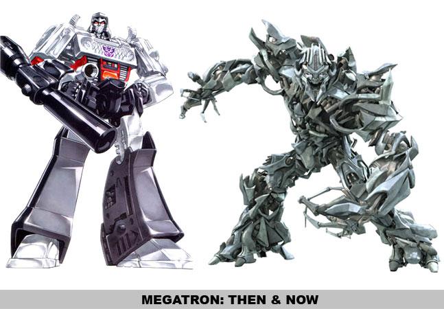 Megatron: Then & Now