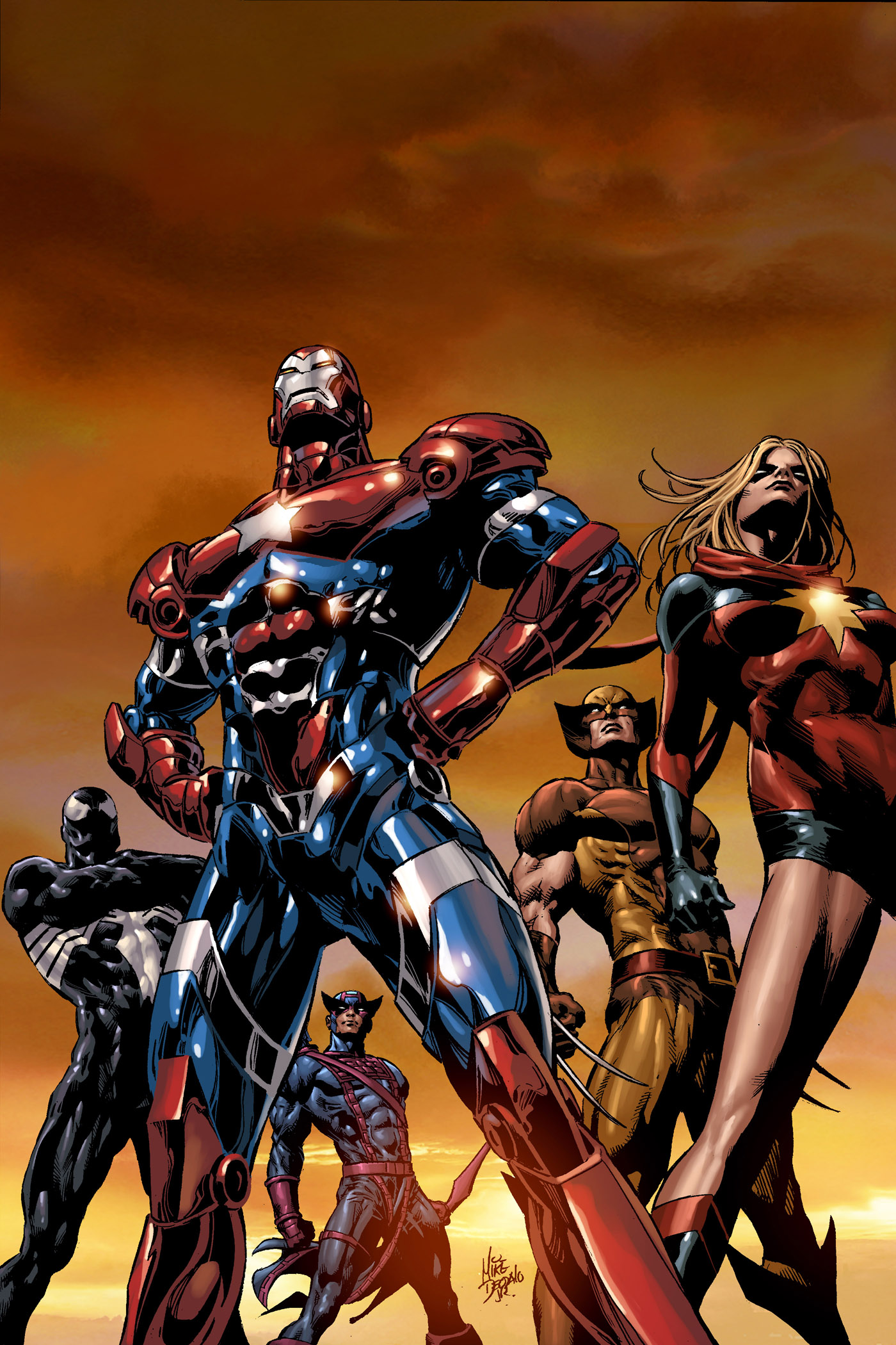 Dark Avengers Iron Man