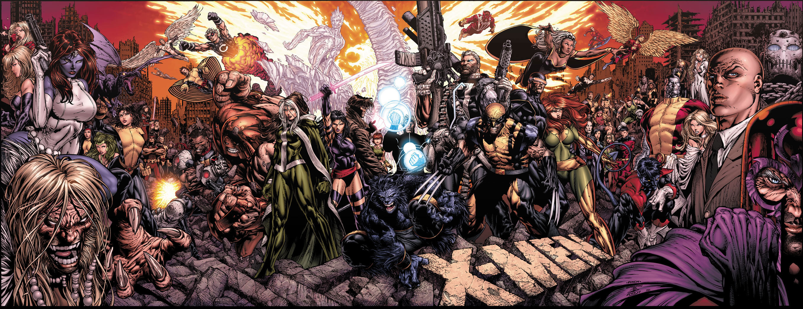X Men Panel
