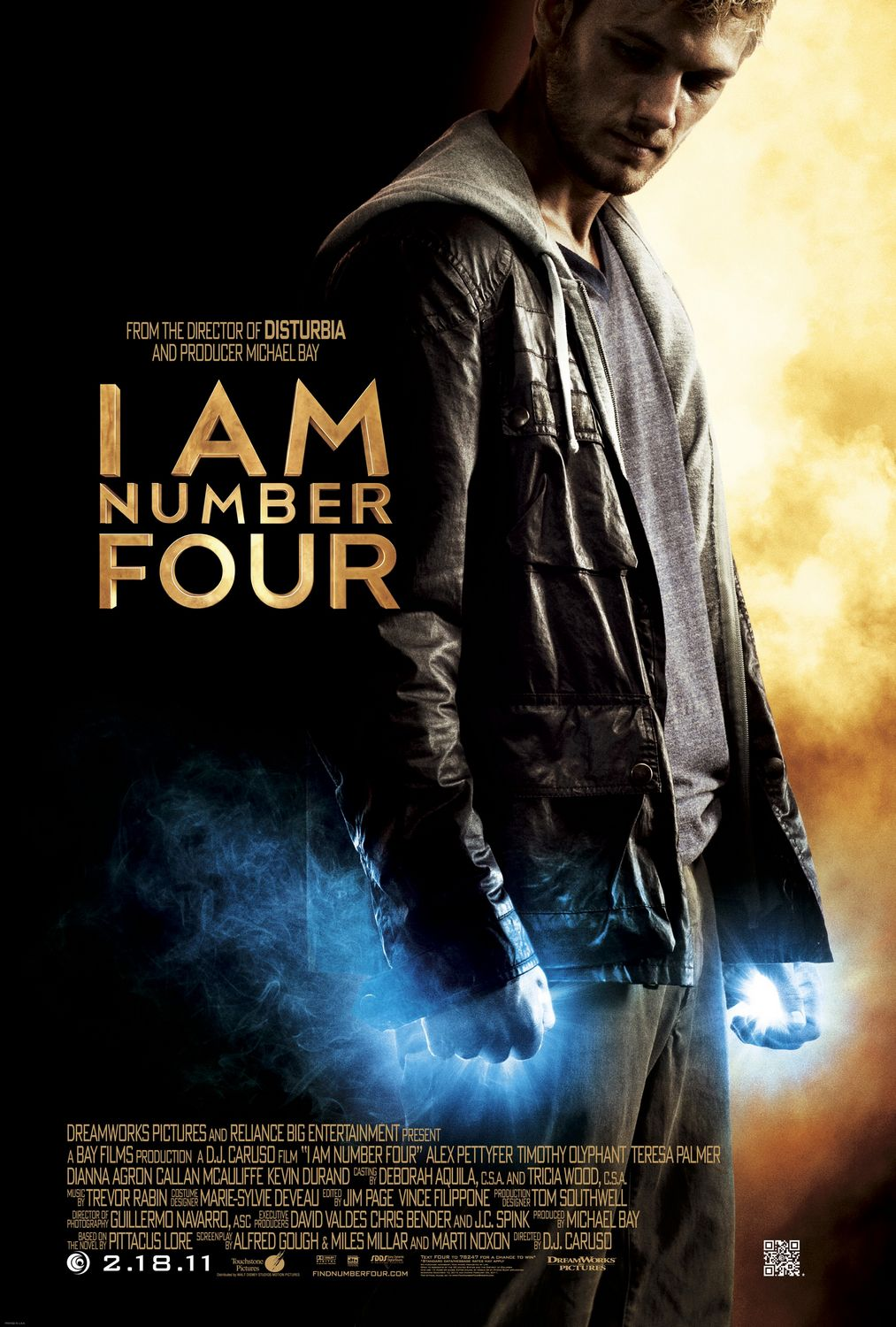 I Am Number Four - poster | The Geek Generation