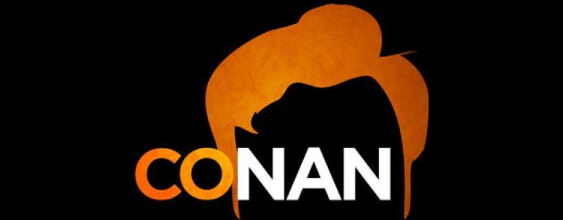 Conan O'Brien visits E3