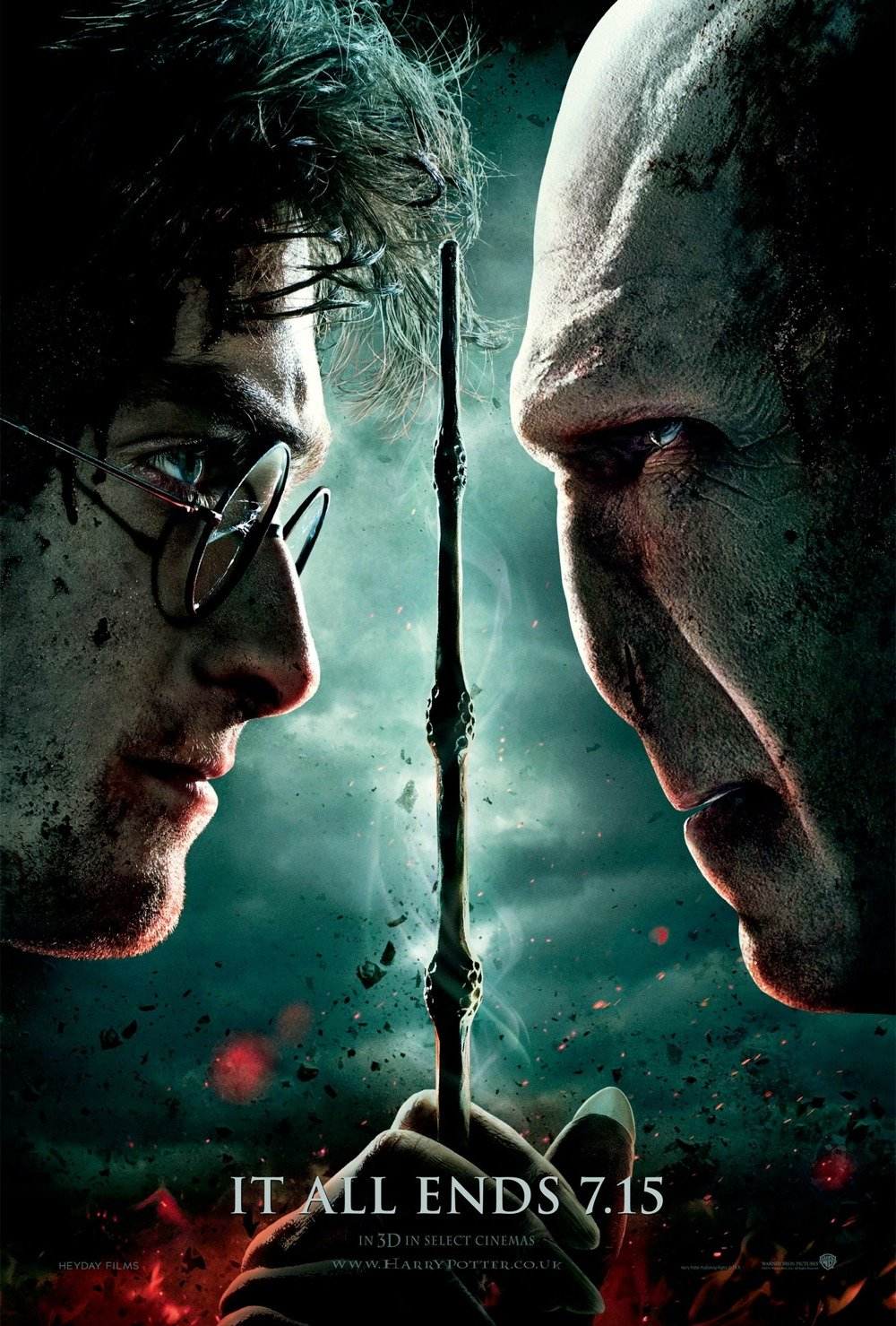 Harry Potter and the Deathly Hallows: Part 2 - trailer ...
