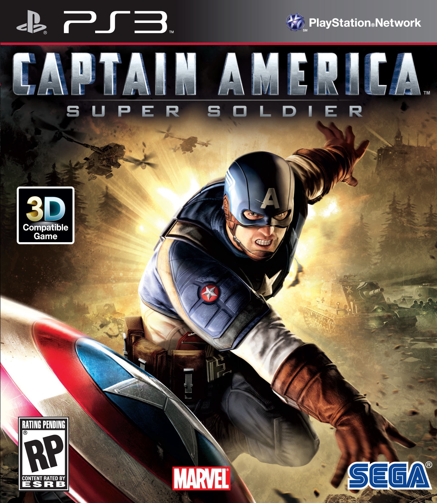 New Playstation 3 Games : Captain america super soldier game review the geek
