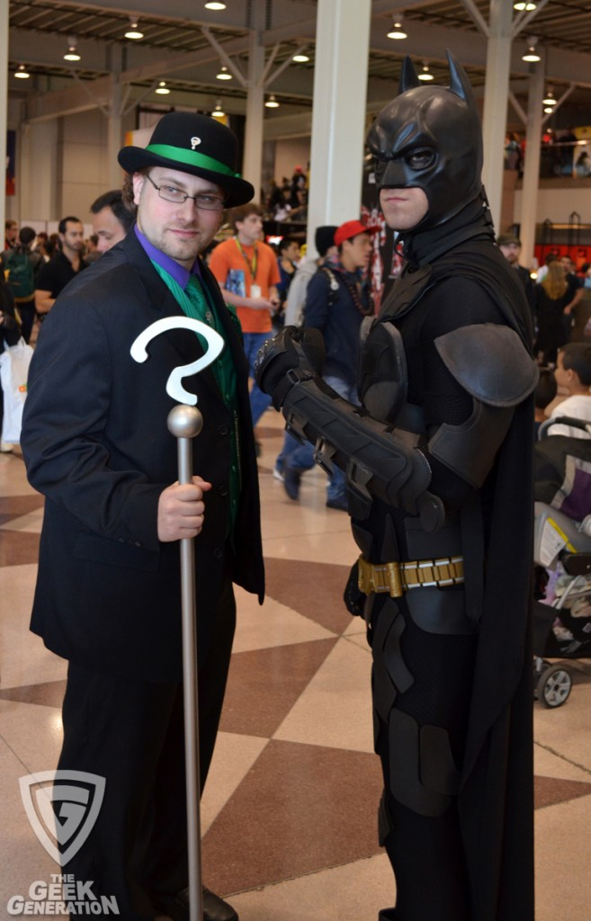 NYCC 2011 - Batman and Riddler