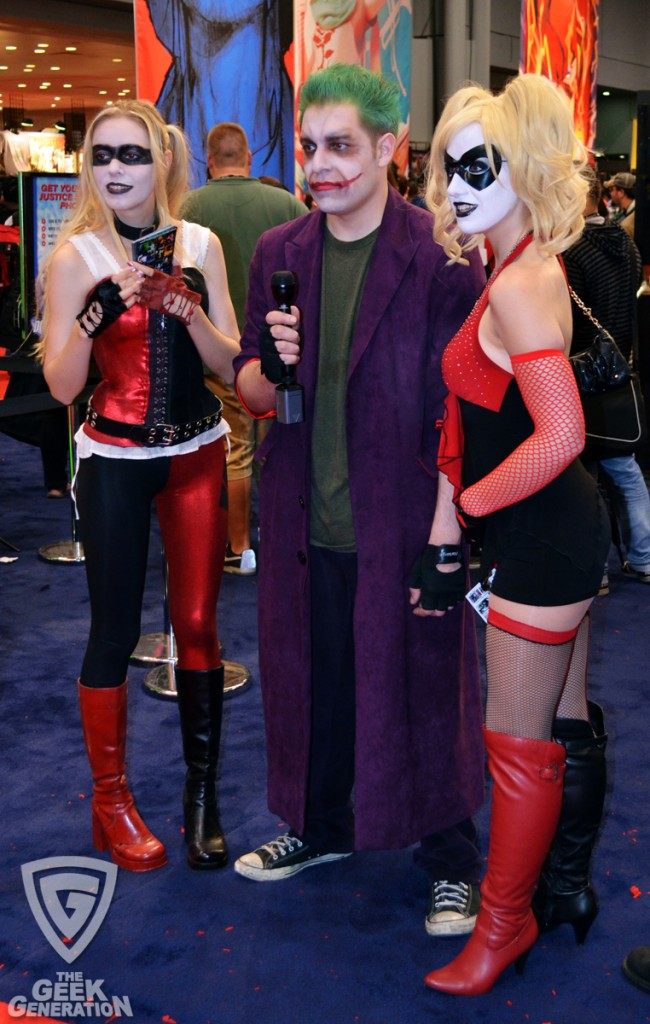 NYCC 2011 - Joker and Quinns