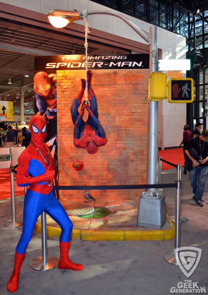 NYCC 2011 - The Amazing Spider-Man with Spider-Man