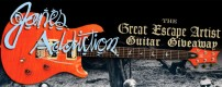 Jane's Addiction has teamed up with The Geek Generation to give away a Paul Reed Smith SE Custom 24 guitar signed by the band.