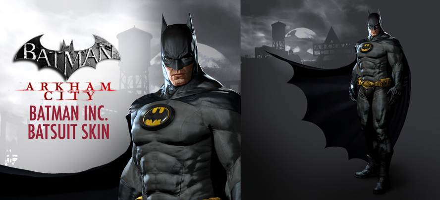 how to change batman skins in arkham city ps4