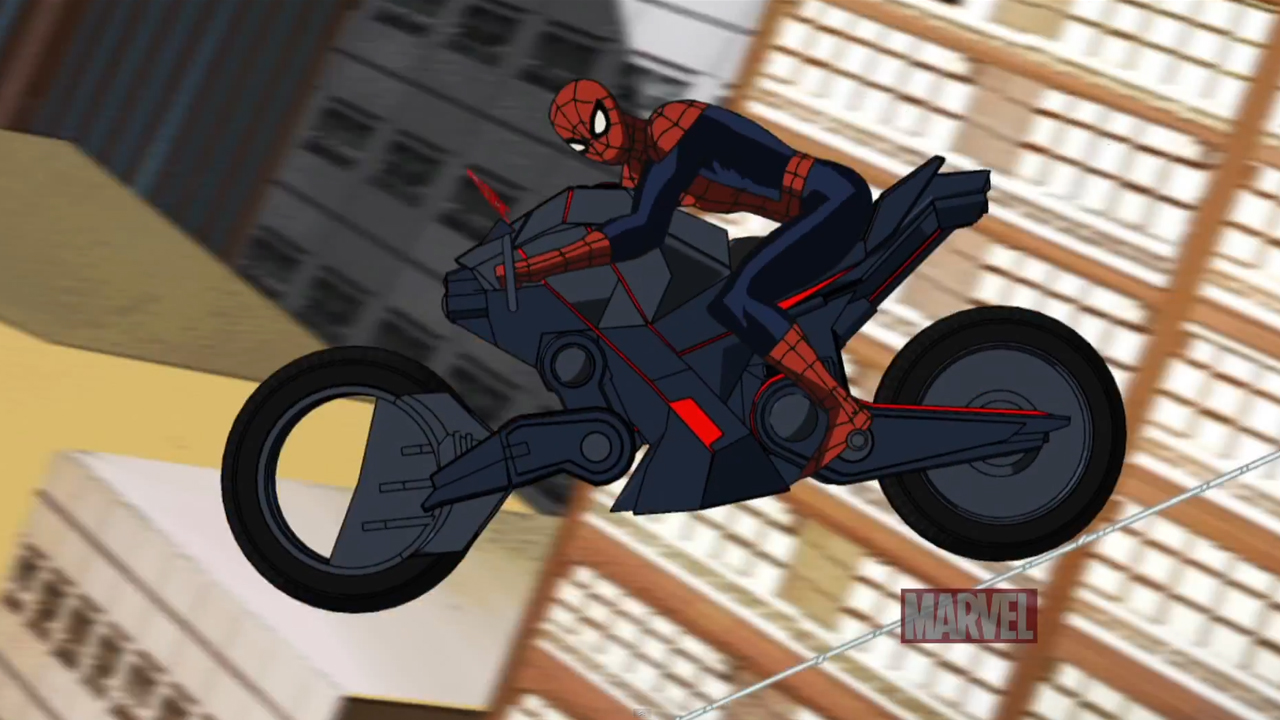 5 reasons i 39 m done watching ultimate spider man the geek generation - Spider man moto ...
