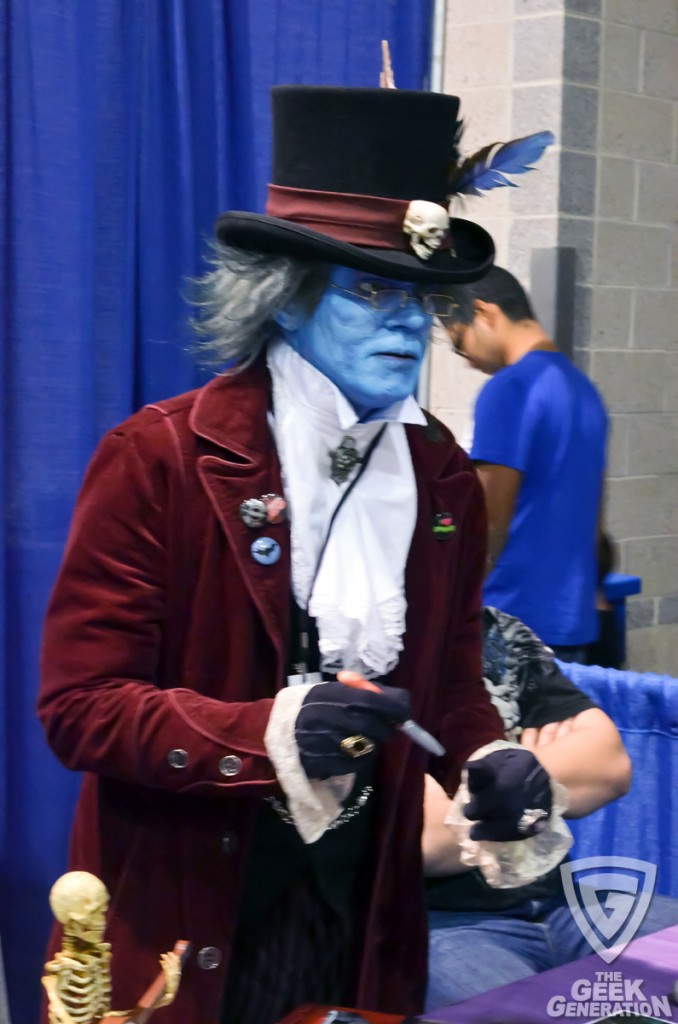 RICC 2012 - blue face tophat