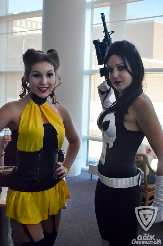 RICC 2012 - silk spectre and lady punisher - close