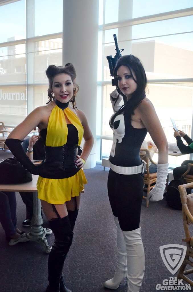 RICC 2012 - silk spectre and lady punisher - full