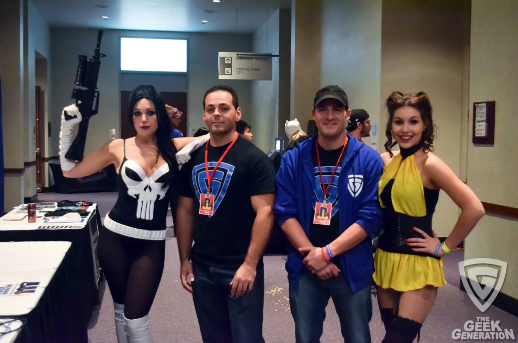 RICC - Ep 108 - Rob and Mike and Silk Spectre and Punisher - close