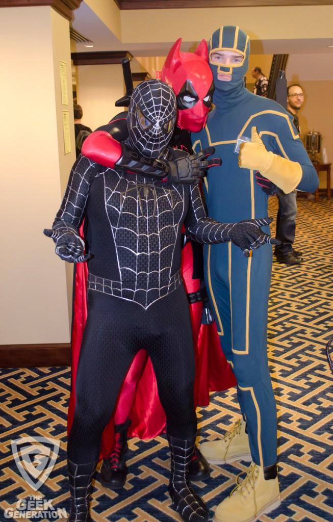 SMF 2012 - Batpool Spidey Kick-Ass