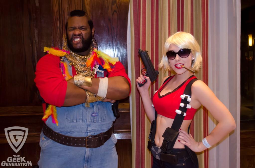 SMF 2012 - Duke Nukem and Mr T