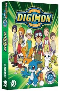 Digimon - Complete Season 2 - DVD cover