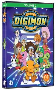 Digimon - Volume 2 - DVD cover