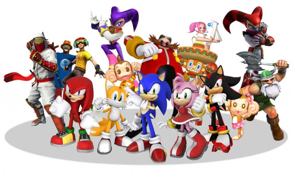 Sonic and All-Stars Racing Transformed - cast