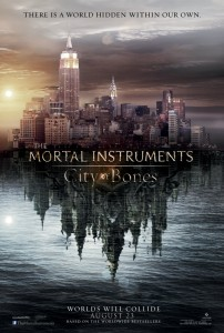 The Mortal Instruments City of Bones - teaser poster