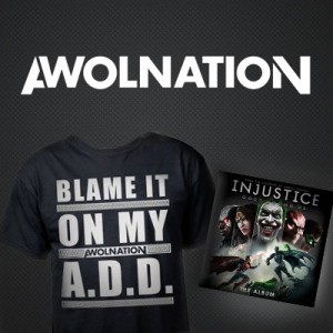 AWOLNATION - Injustice soundtrack giveaway