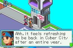 Back in Cyber City