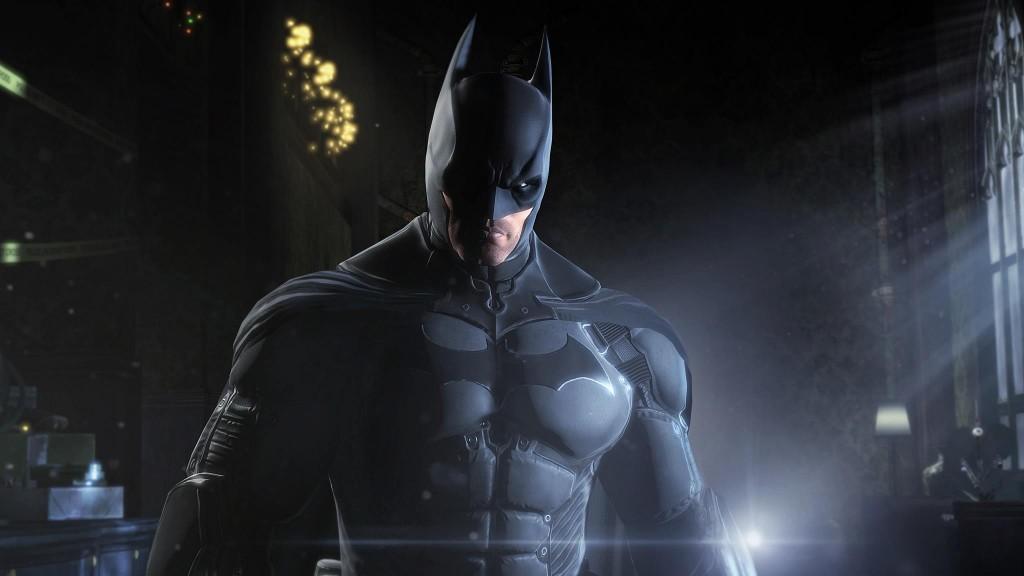 Batman Arkham Origins - Batman close up