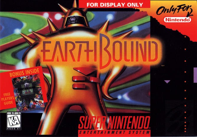 Earthbound - SNES cover