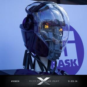 X-Men Days of Future Past - sentinel head