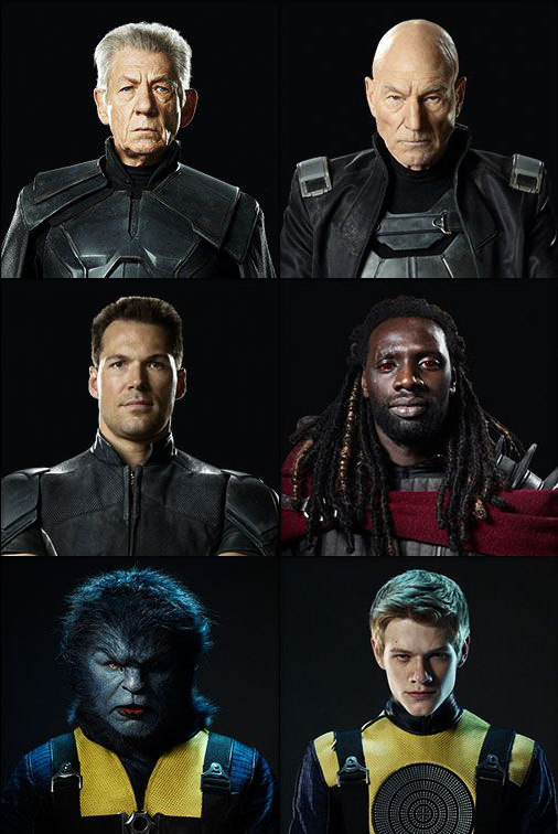 xmen days of future past - small character portraits