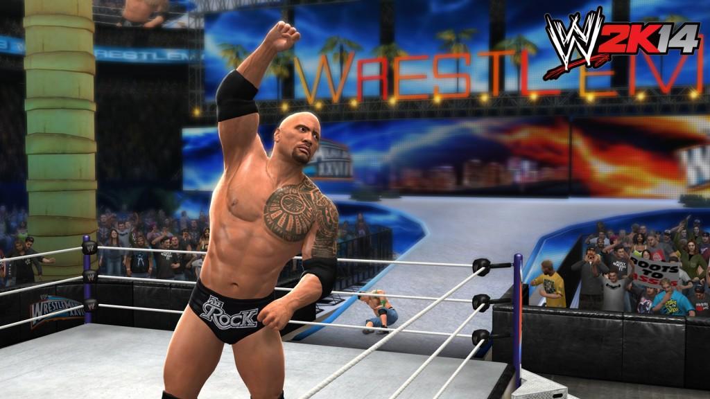 WWE 2K14 - Rock vs Cena
