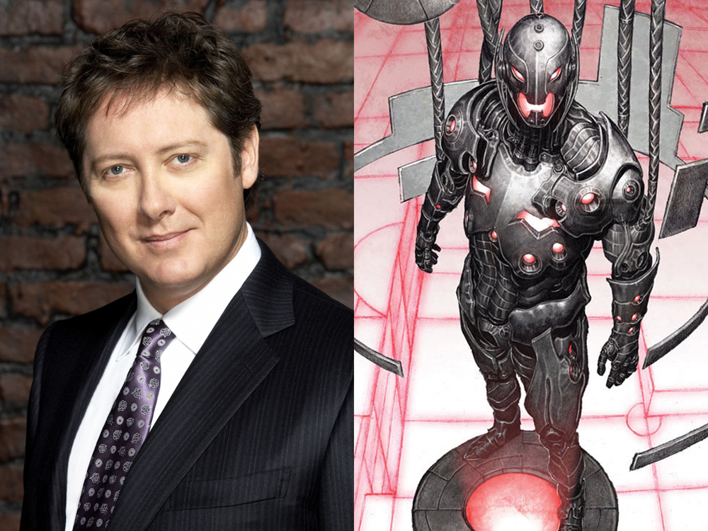 James Spader and Ultron