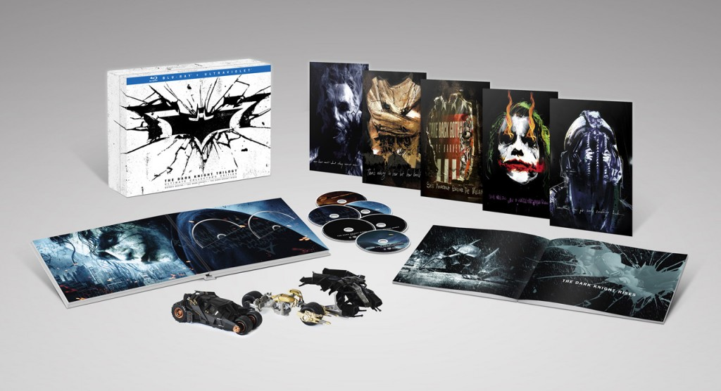 The Dark Knight Trilogy - Ultimate Collectors Edition - contents