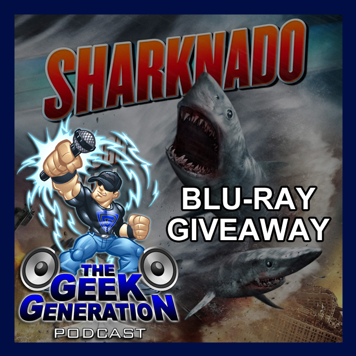 Sharknado blu-ray giveaway