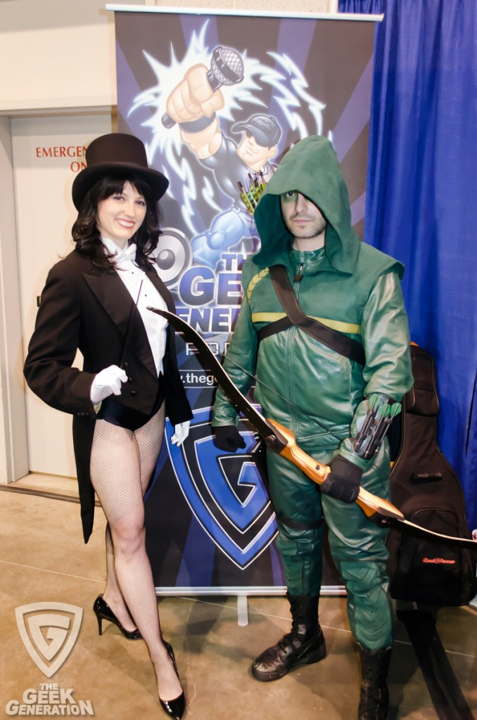 RICC 2013 - Arrow and Zatanna