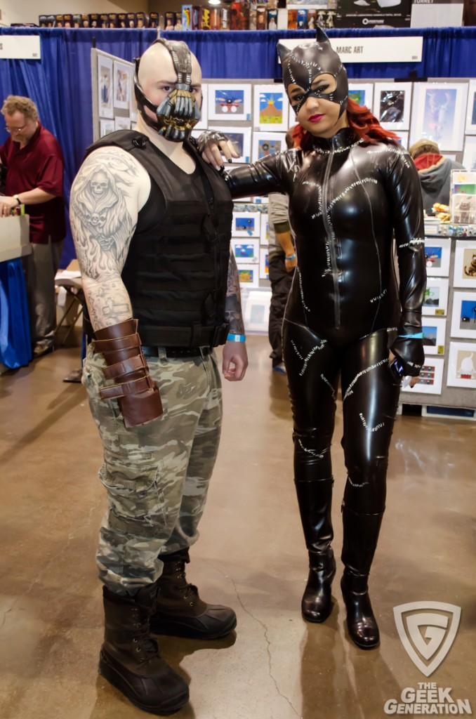 RICC 2013 - Bane and Catwoman