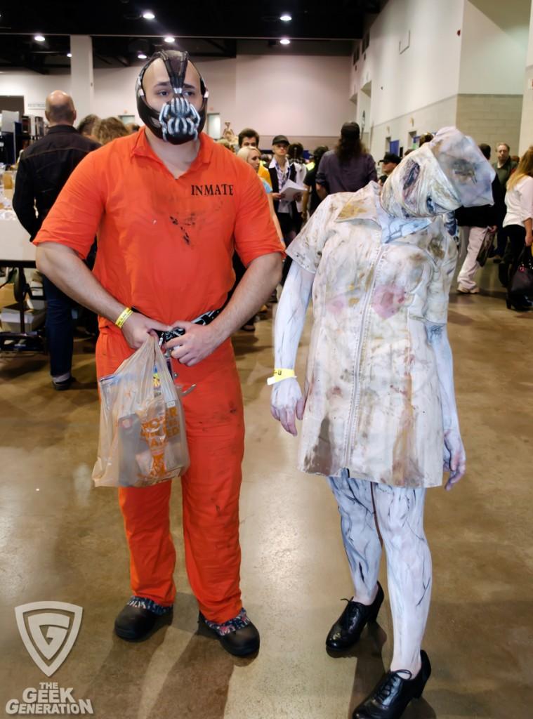 RICC 2013 - Bane and Silent Hill Nurse