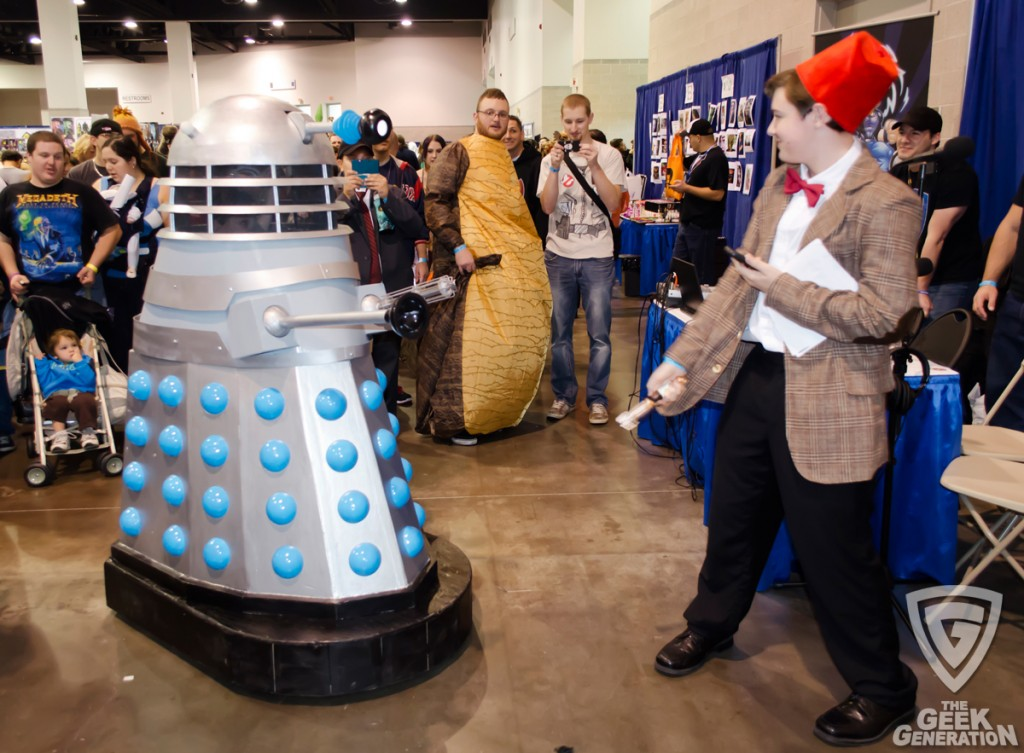 RICC 2013 - Dalek and the Doctor