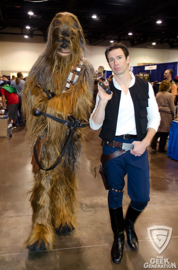 RICC 2013 - Han Solo and Chewbacca