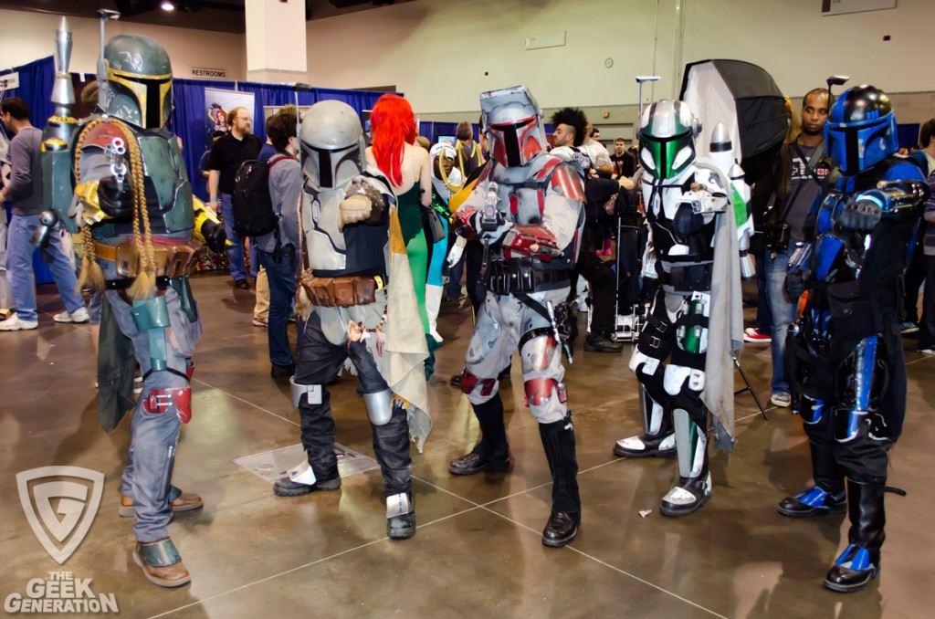 RICC 2013 - Star Wars bounty hunter group