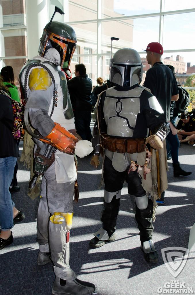 RICC 2013 - Star Wars bounty hunter pair
