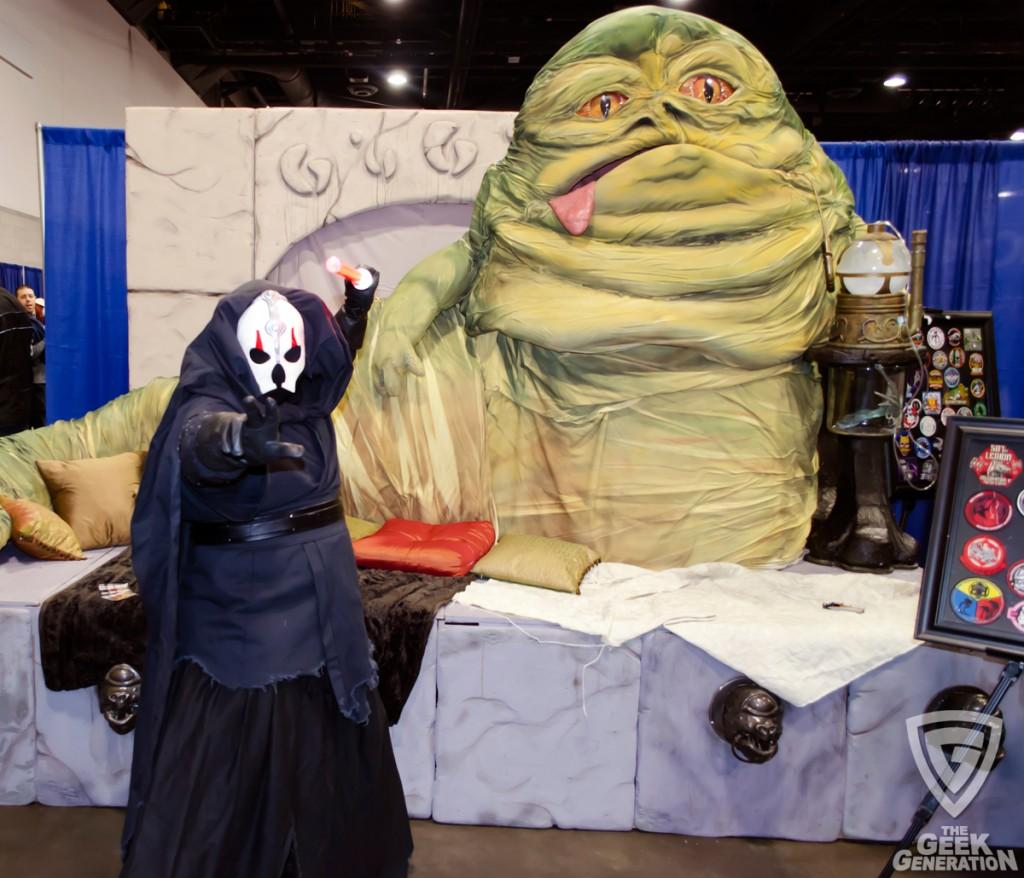 RICC 2013 - Star Wars sith with Jabba