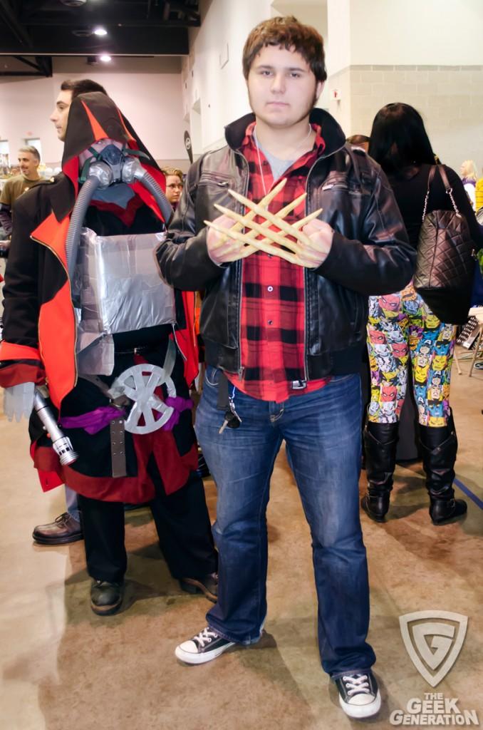 RICC 2013 - Wolverine bone claws