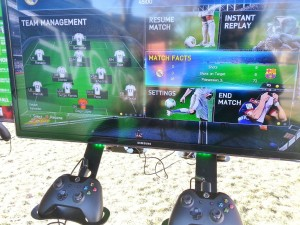 Xbox One hands on - Fifa
