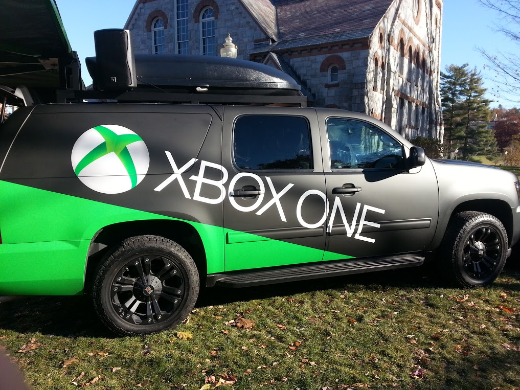 Xbox One hands on - truck