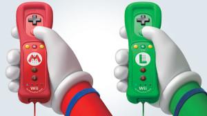 Mario and Luigi Nunchuk Controllers