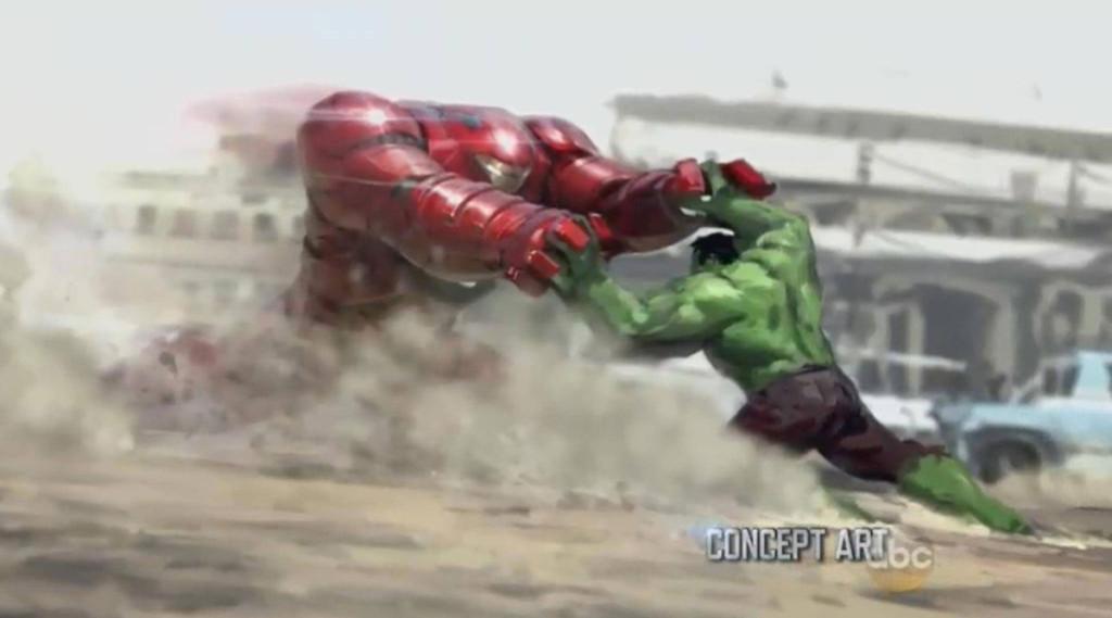 Hulkbuster armor  concept art