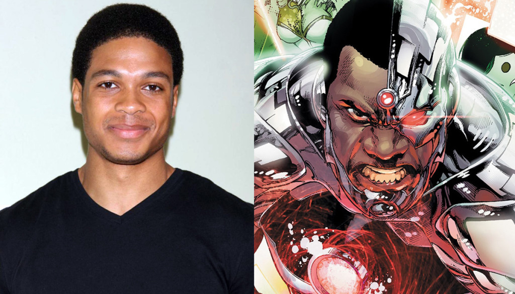 Ray Fisher cast as Cyborg