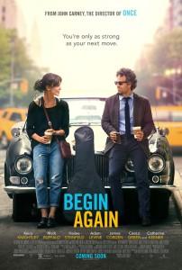 Begin Again - poster
