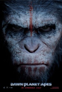 Dawn of the Planet of the Apes - poster