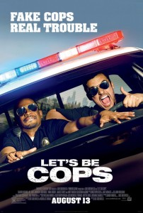Lets Be Cops - poster
